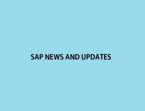 SAP News Updates